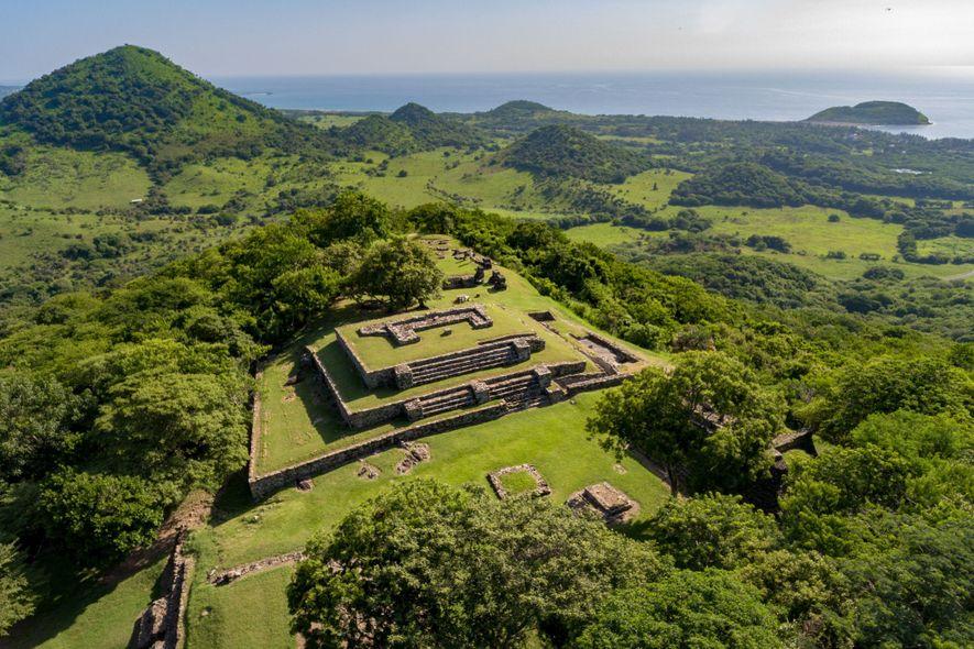 Hoch über der Bucht, in der Cortés Villa Rica de la Vera Cruz gründete, befinden sich ...