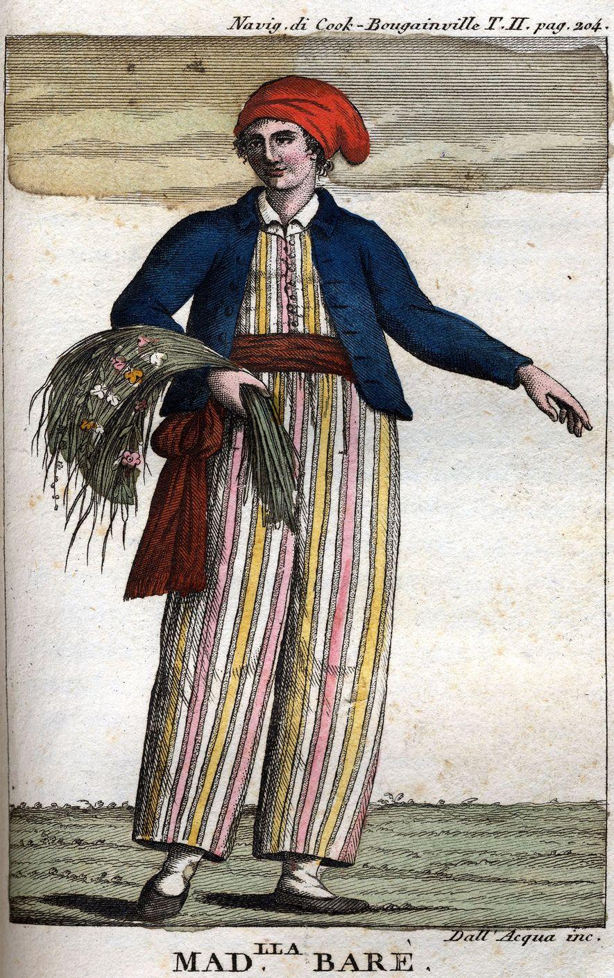 Die französische Abenteurerin Jeanne Baret