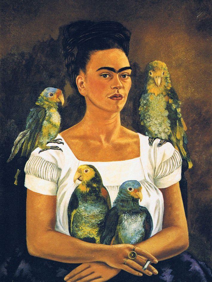 Frida Kahlos Selbstporträts sind weltberühmt.