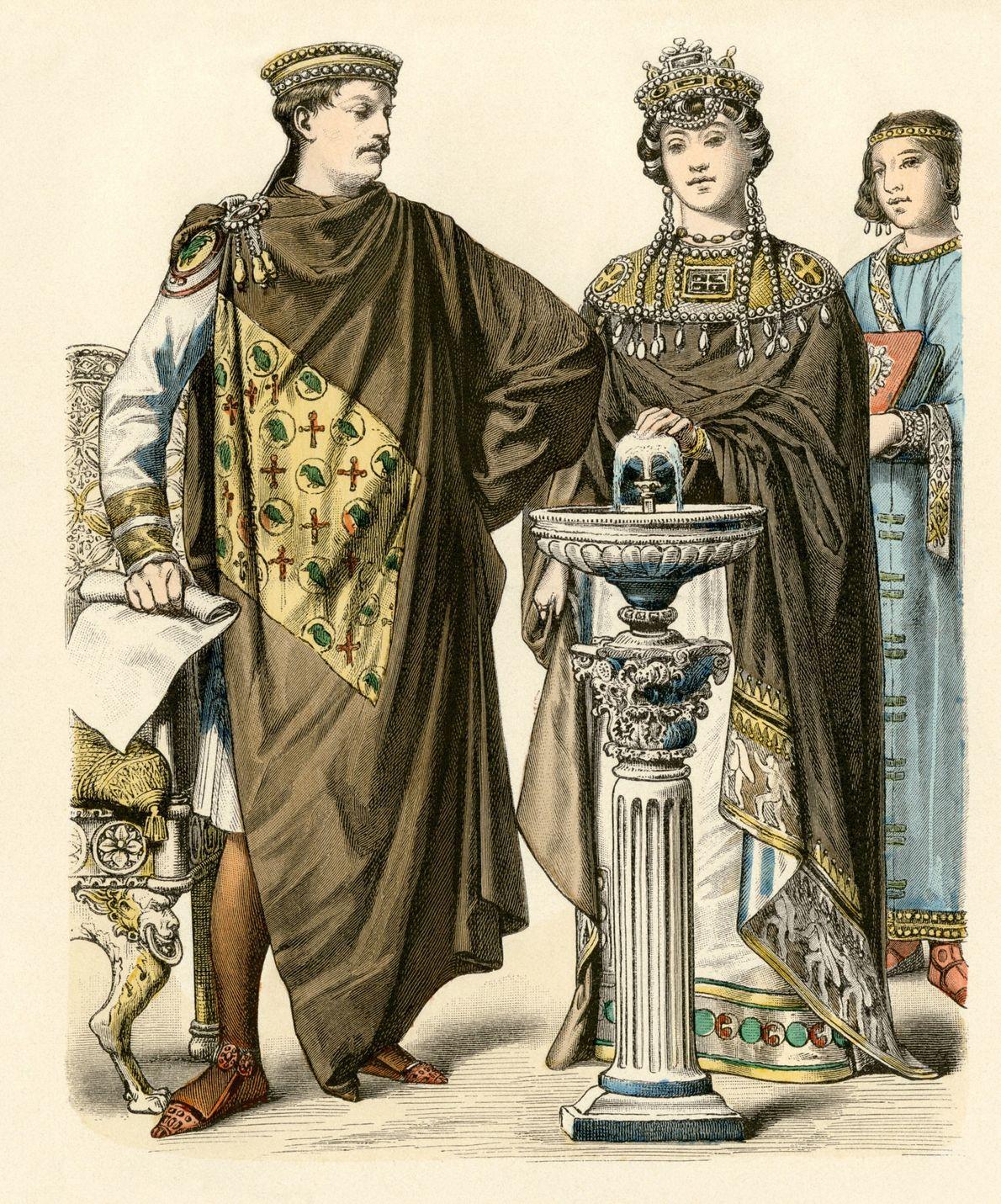 THEODORA UND JUSTIANIAN I.