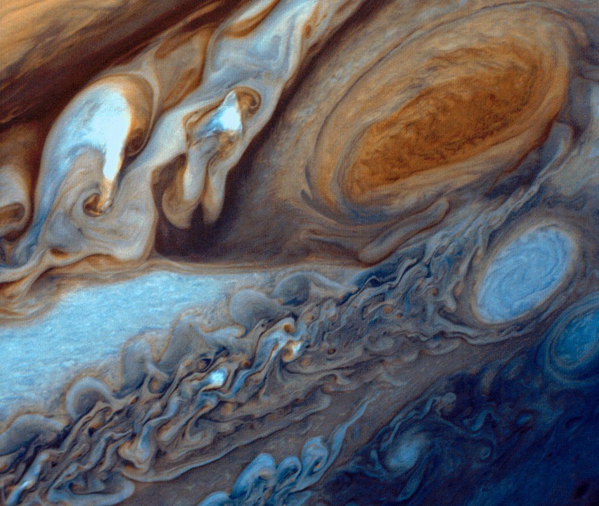 Große Rote Fleck des Jupiters