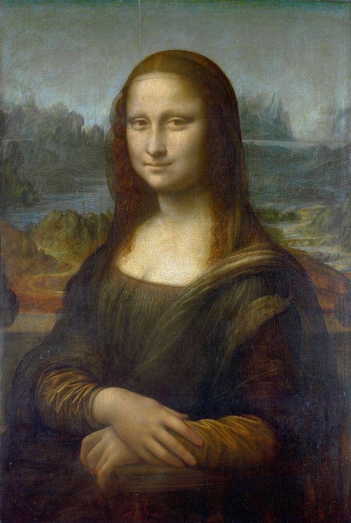 """Leonardo da Vincis """"Mona Lisa""""."""