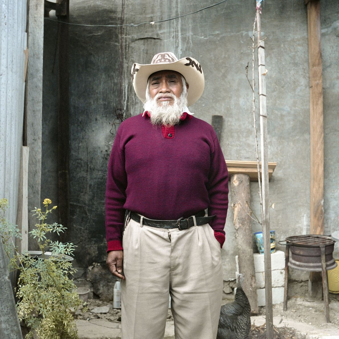 Anführer des Rats für indigene Repräsentanten der Chiapas Highlands