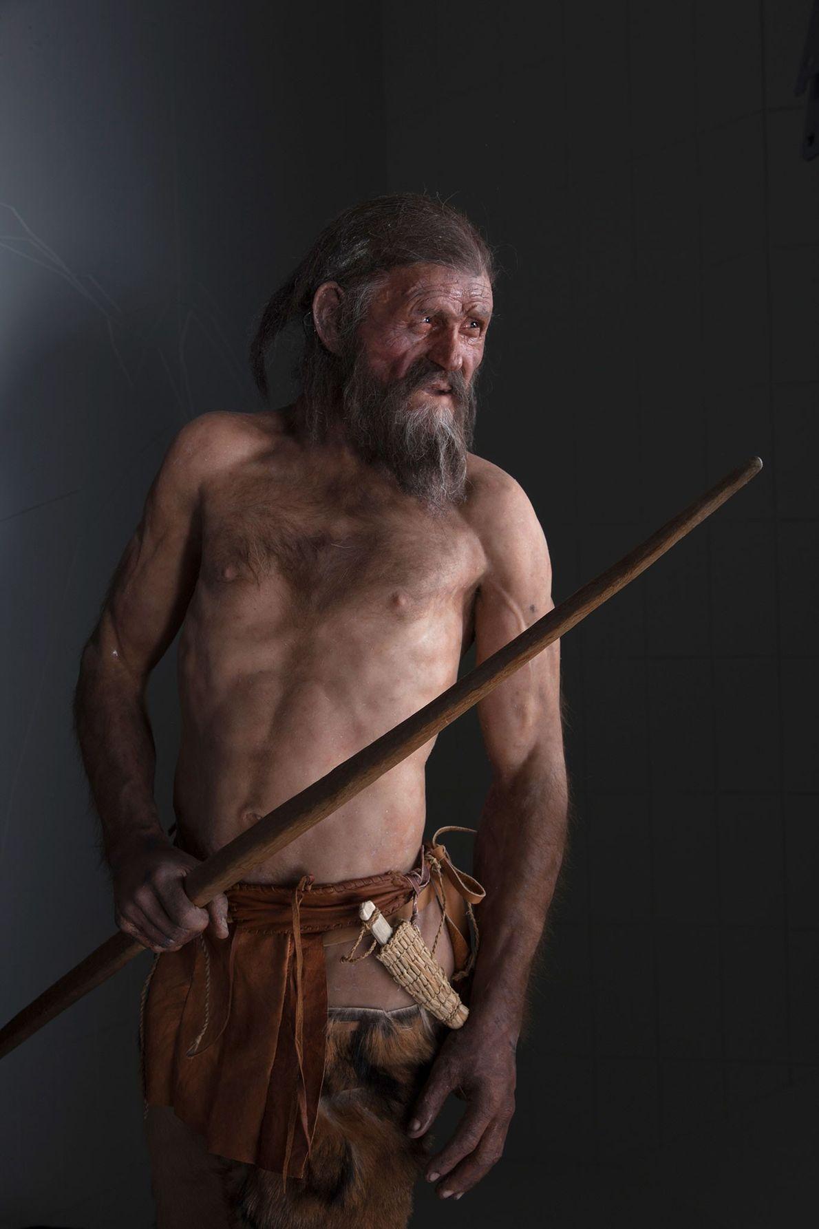 Rekonstruktion von Ötzi