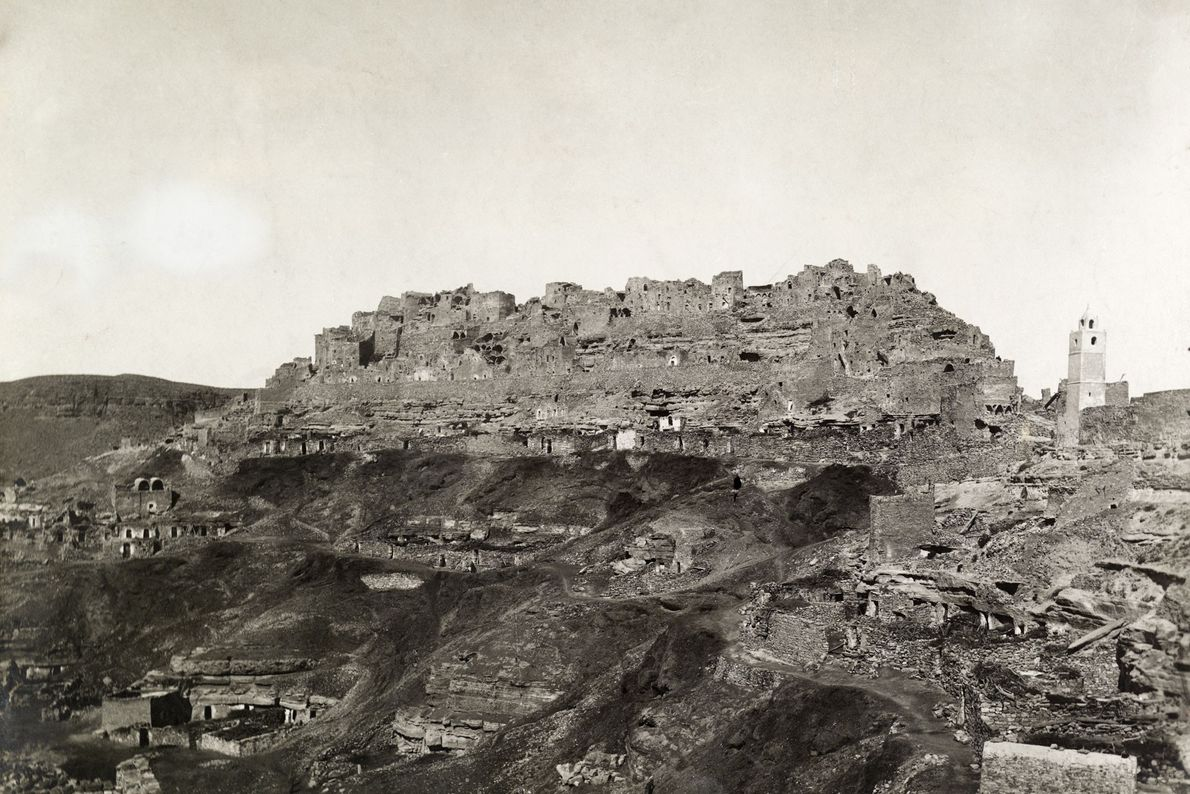 Berberstadt Chenini in Tunesien