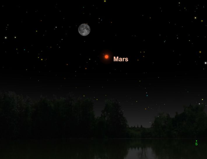 So groß und hell war der Mars zum letzten Mal im Jahr 2003.