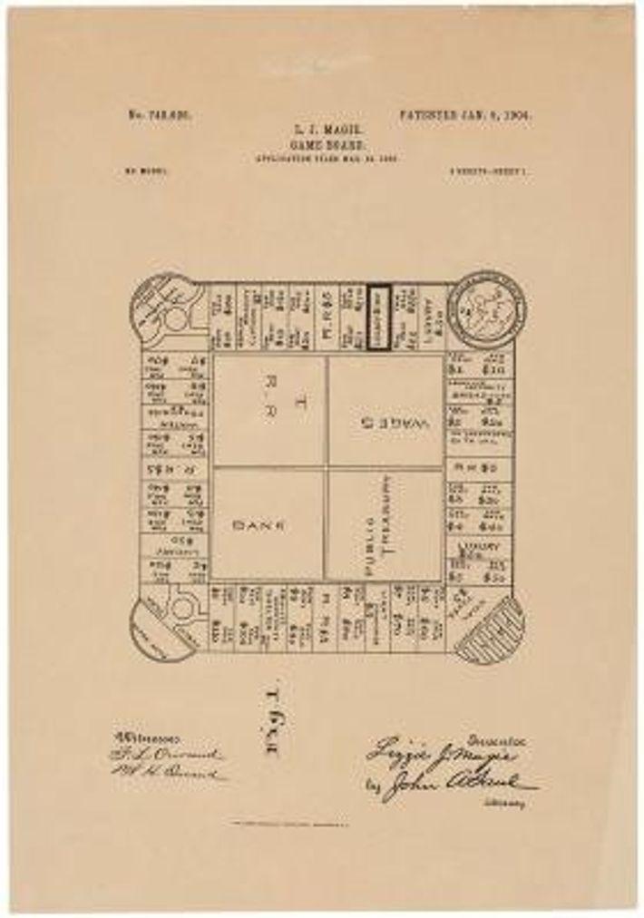 Spielplan von The Landlord's Game