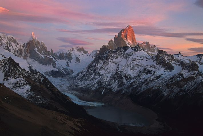 Fitz-Traverse in Patagonien