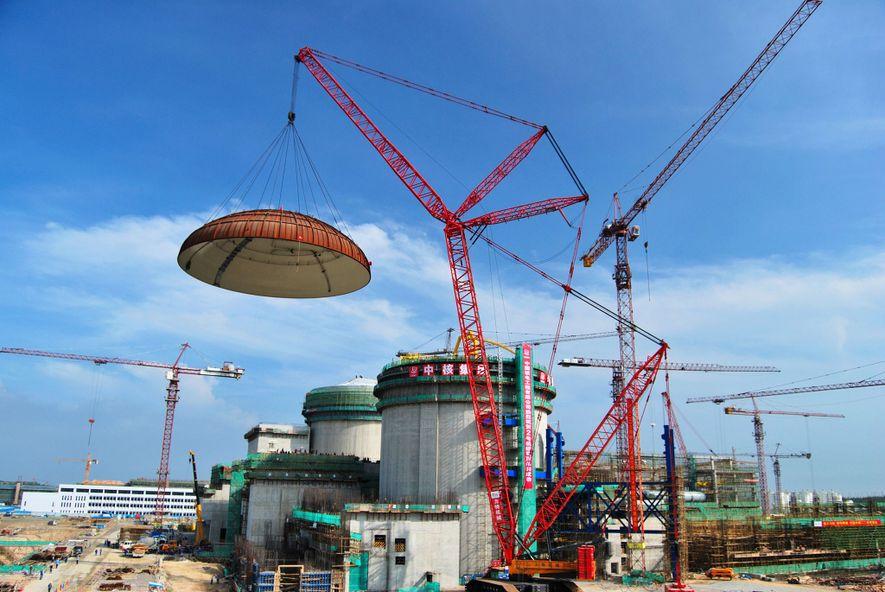 China baut relativ kleine und preiswerte Atomreaktoren wie diesen in Changjiang. Es gibt jedoch weiterhin Bedenken ...