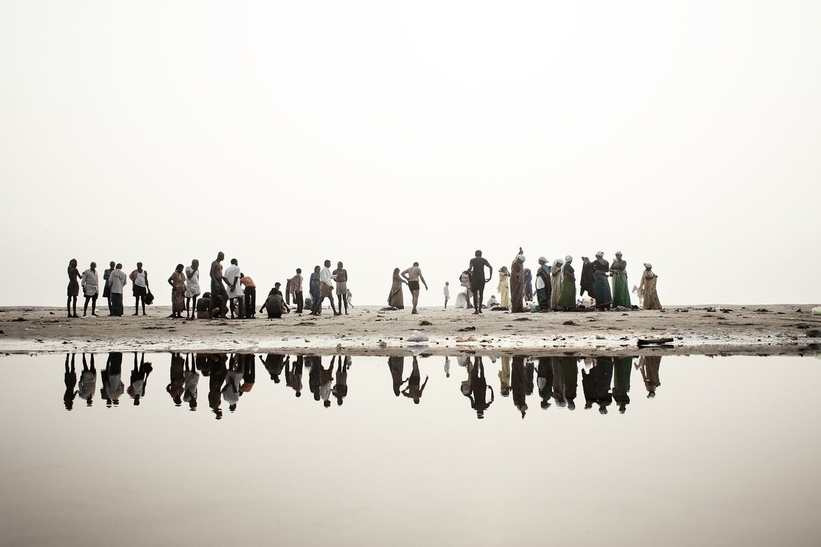 Ufer des Ganges