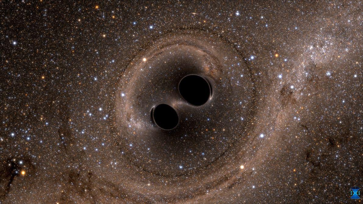 """Gravitationswellen gefunden – """"Kräuselungen"""" der Raumzeit"""