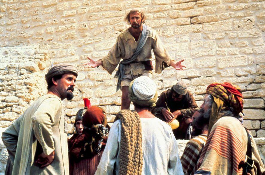 """Autor Tim Bissell bezeichnet den satirischen Film """"Das Leben des Brian"""" von Monty Python als """"lebhafte, ..."""