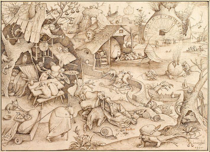 Erschöpfung (im religiösen Kontext auch als Trägheit oder Acedia bezeichnet) galt im 16. Jahrhundert noch als ...