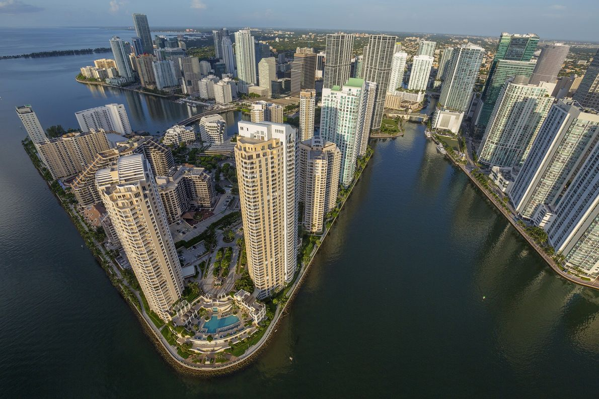 Küste von Miami