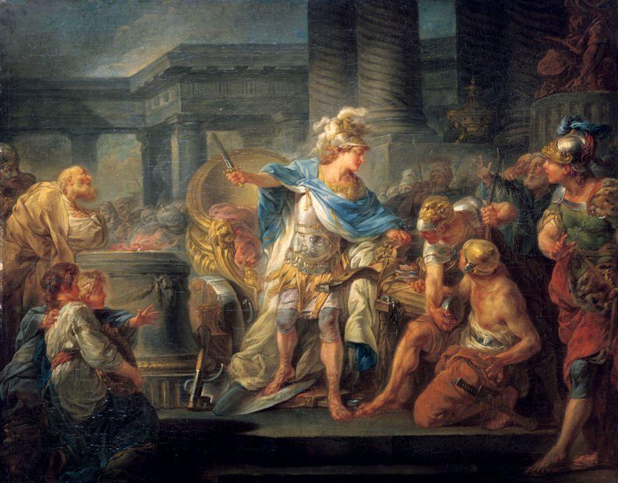Während seiner zwölfjährigen Herrschaft eroberte Alexander der Große mächtige Reiche und wurde fast wie ein Gott ...