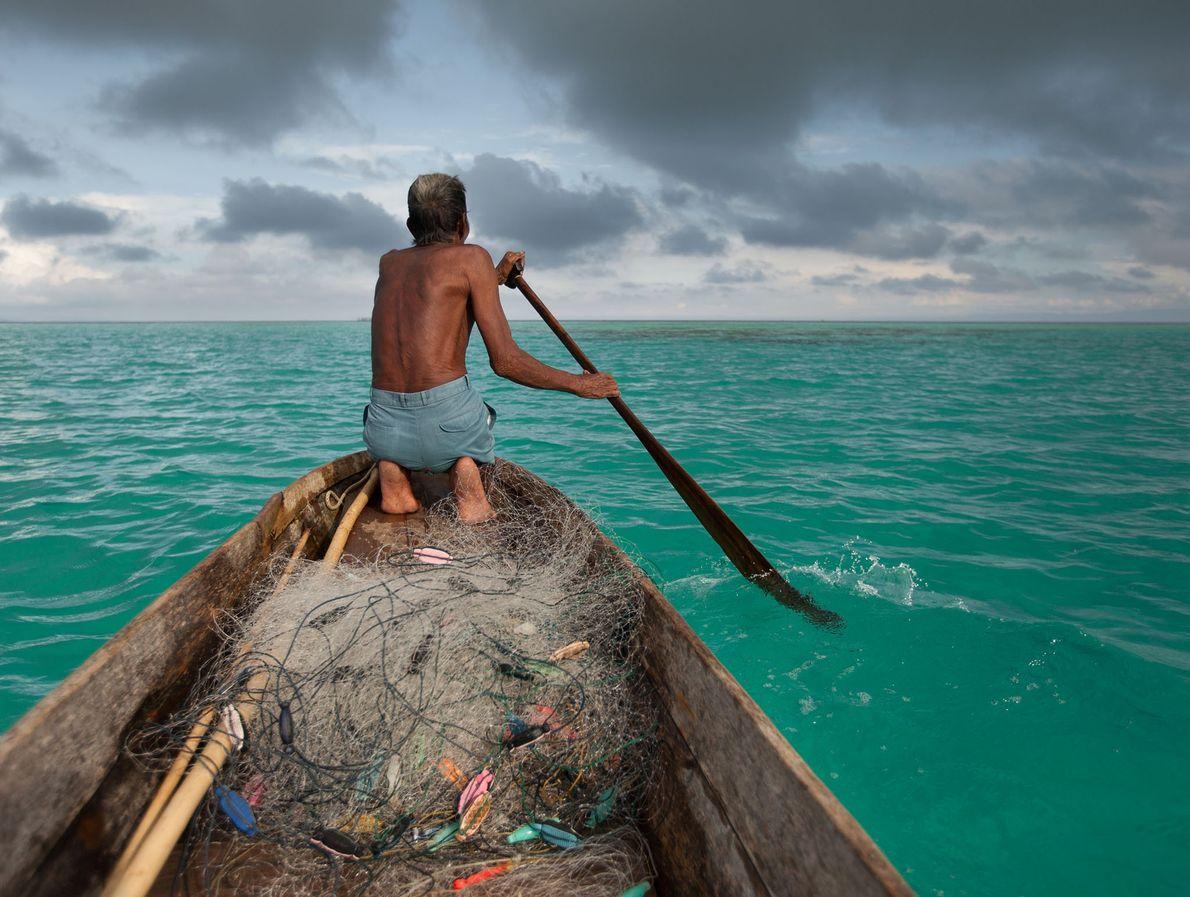 Der Bajau-Fischer