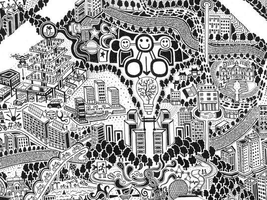 Galerie: Diese unglaublich detailreiche Karte zeigt Peking aus unterschiedlichen Blickwinkeln