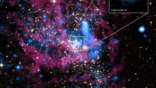 Tausende Schwarze Löcher könnten im Zentrum der Milchstraße lauern