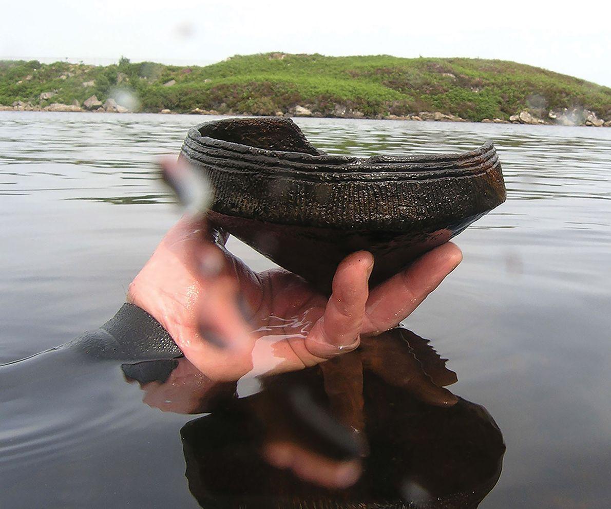 Archäologen staunen: Künstliche Inseln älter als Stonehenge