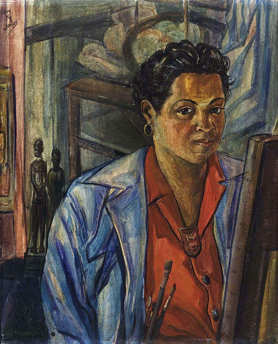 Durch ihre Werke schaffte Loïs Mailou Jones eine Verbindung zwischen ihrer Identität als schwarze Amerikanerin und ...