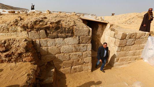 Galerie: Ein Blick ins Grab einer mächtigen Ägypterin