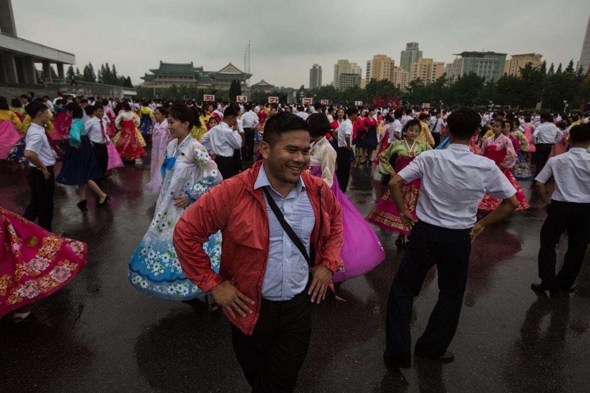 Traditionelle Tanzveranstaltung
