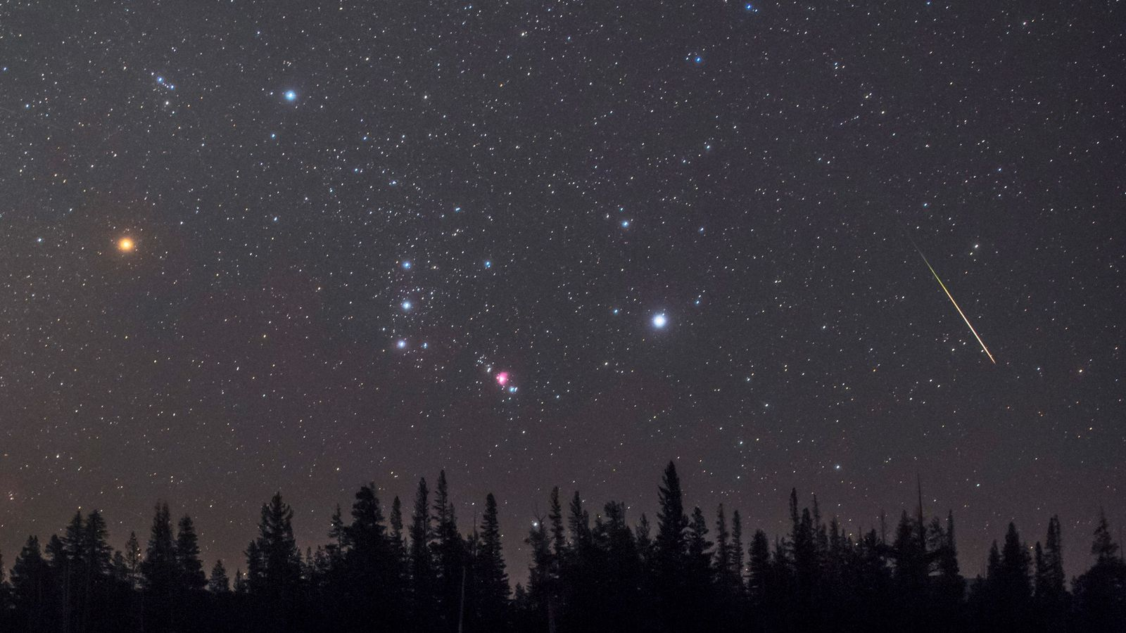 Sternbild Orion & Beteigeuze