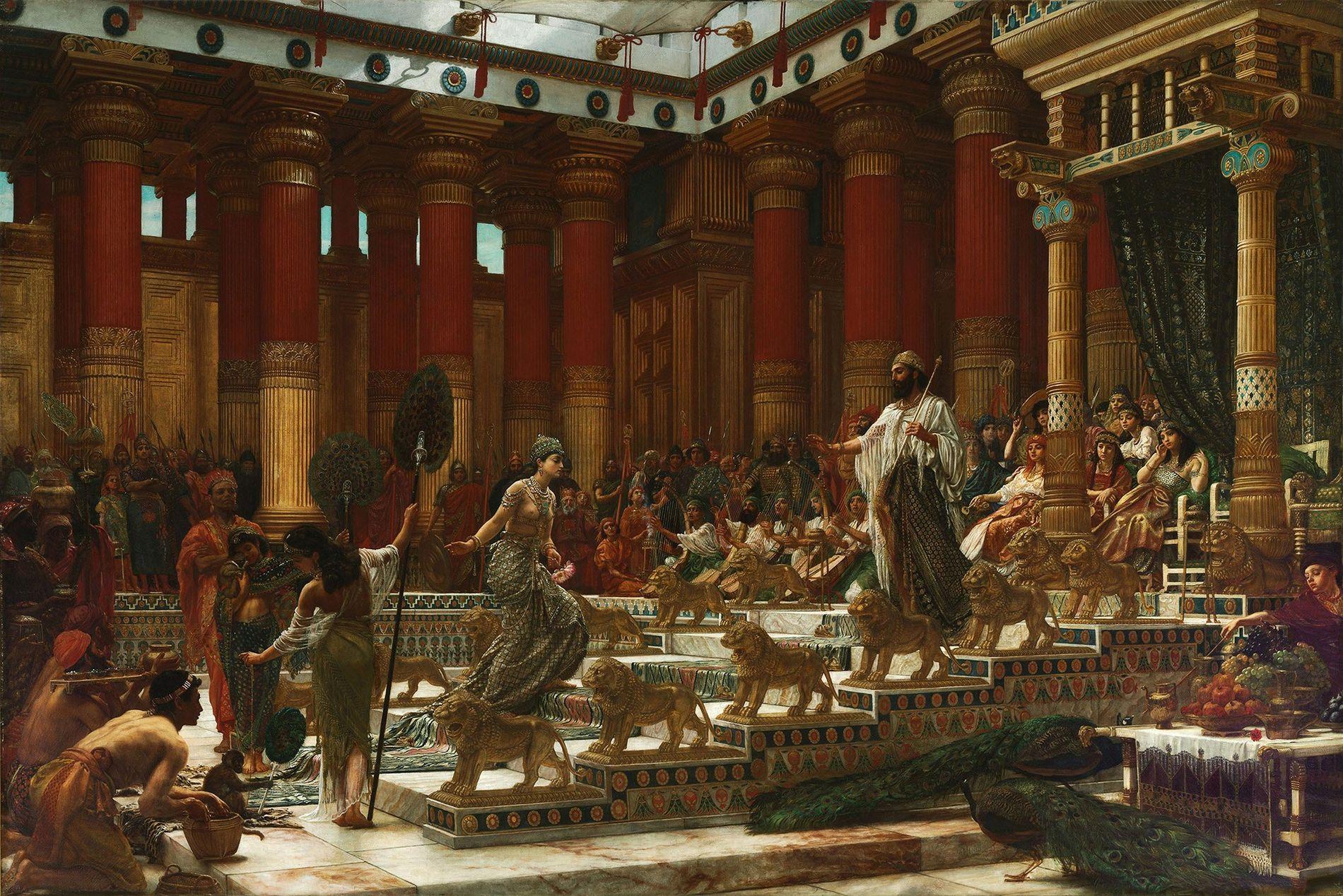 Königin von Saba und König Salomon
