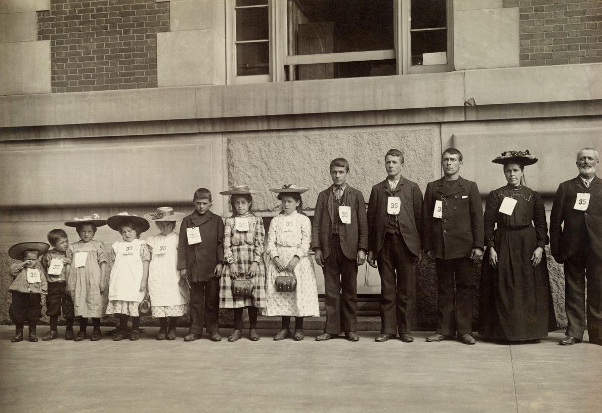 Immigrantenfamilie mit elf Kindern