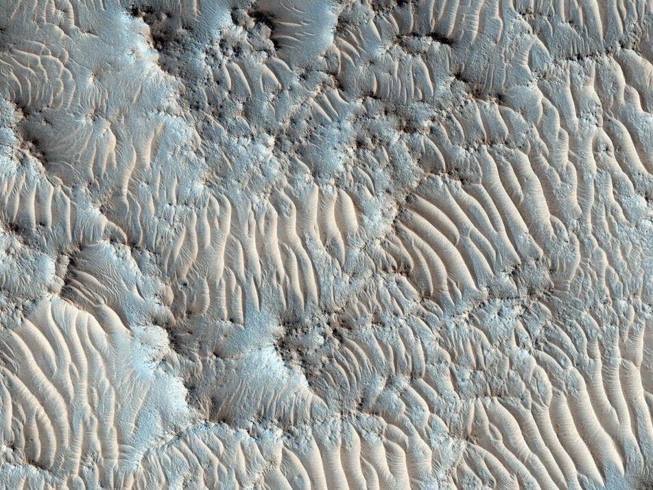 NASAs neuer Marslandeplatz für die Suche nach Leben