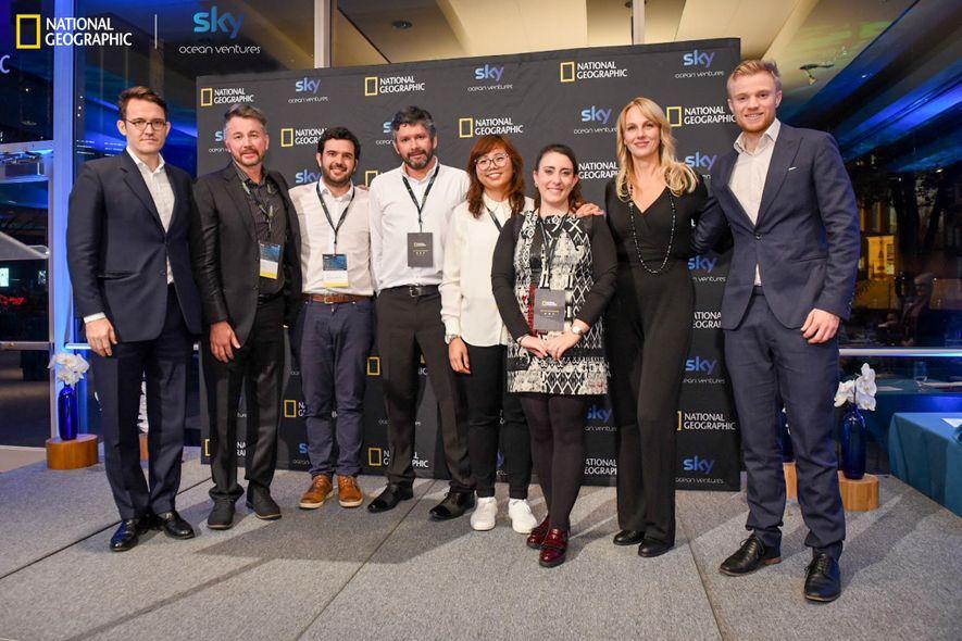 National Geographic und Sky Ocean Ventures vergeben ein Investment an die Teams Algramo und EcoFlexy der ...