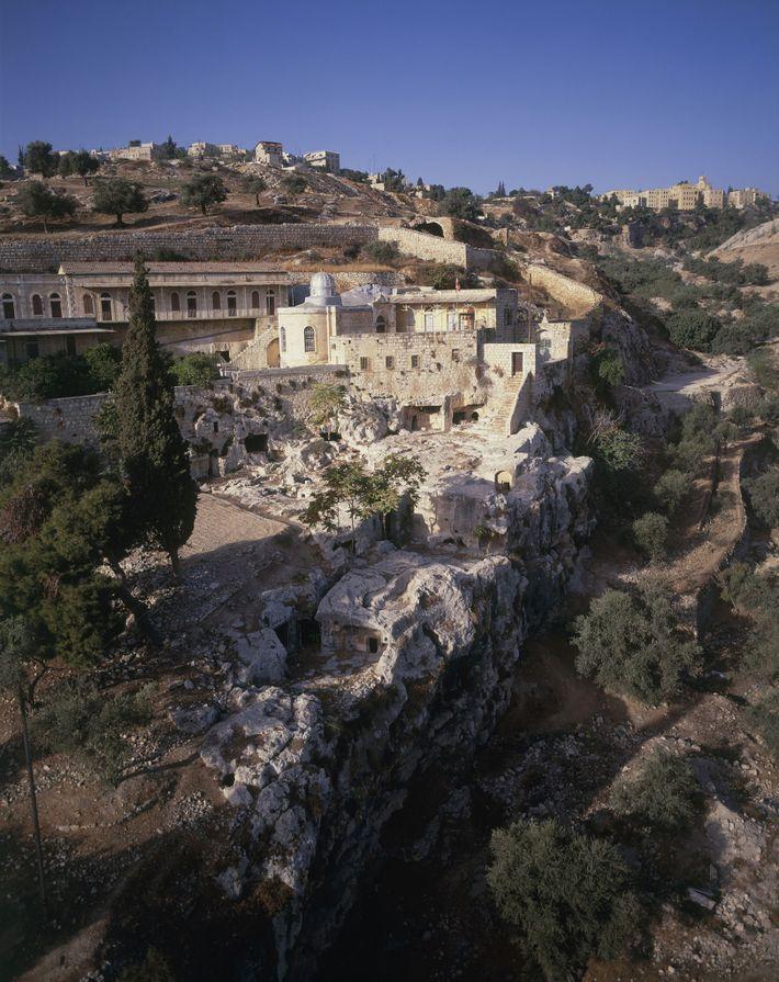 """Legenden zufolge erhängte sich Judas auf dem Blutacker (Hakeldama) bei Jerusalem. """"Wenn man dort ist, fühlt ..."""