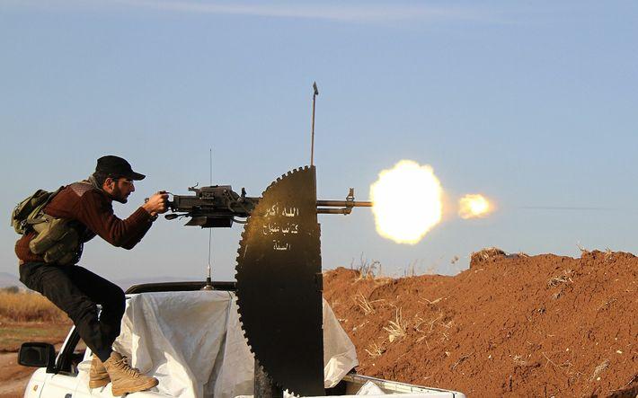 Mitglied der syrischen Opposition