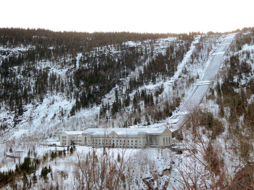 Wasserkraftwerk Vemork