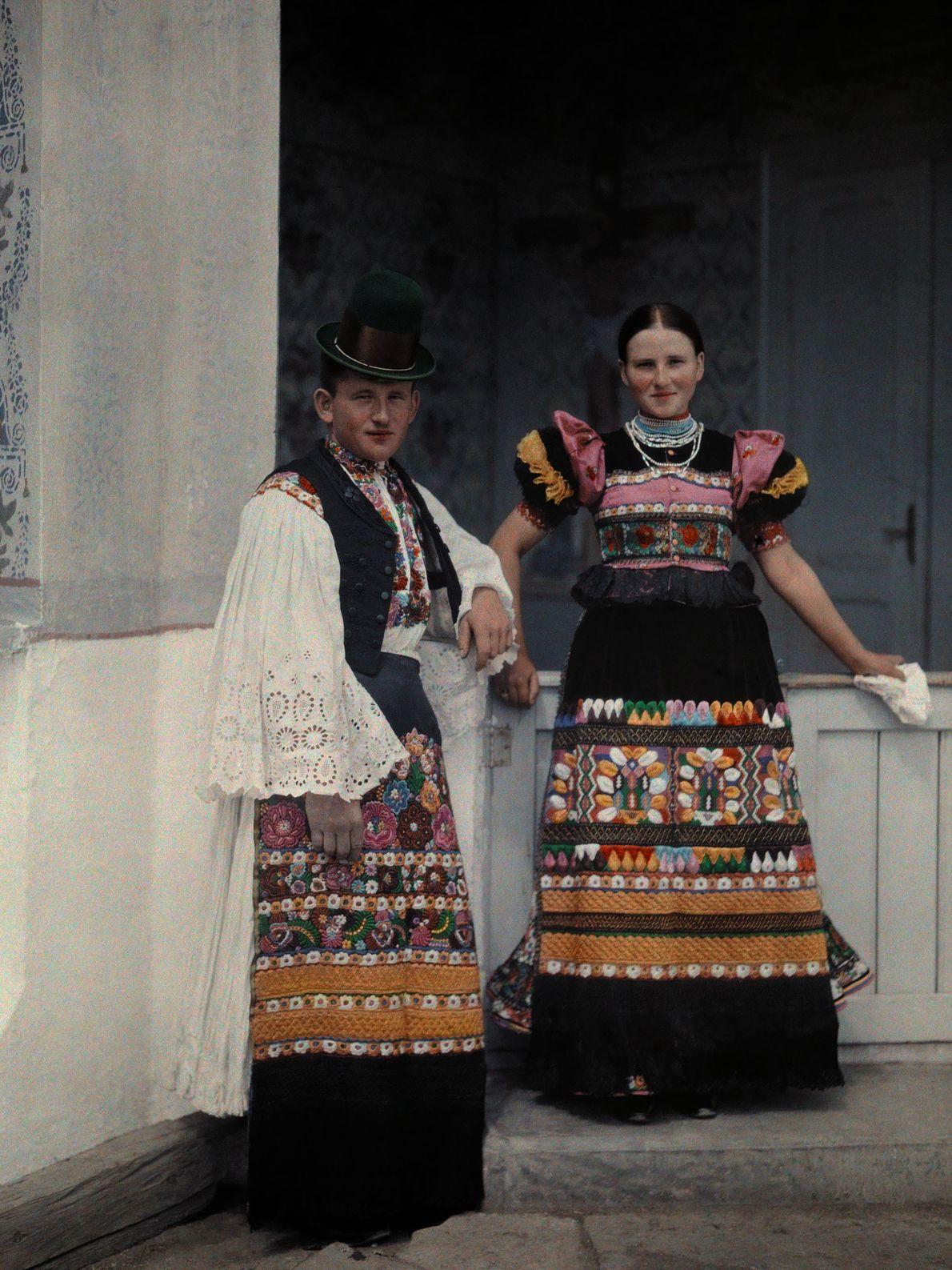 Junges Brautpaar in Ungarn