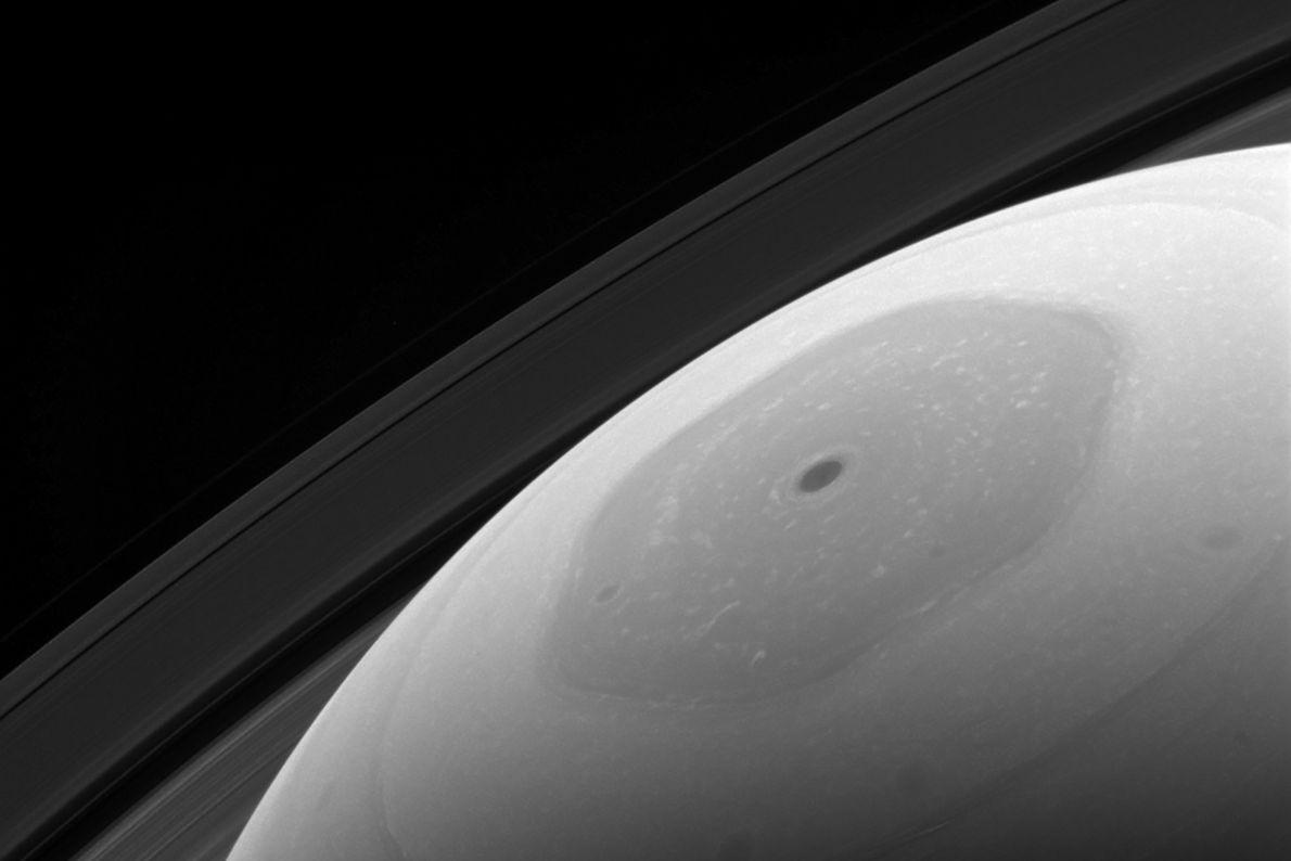 Der hexagonale Jetstream des Saturn