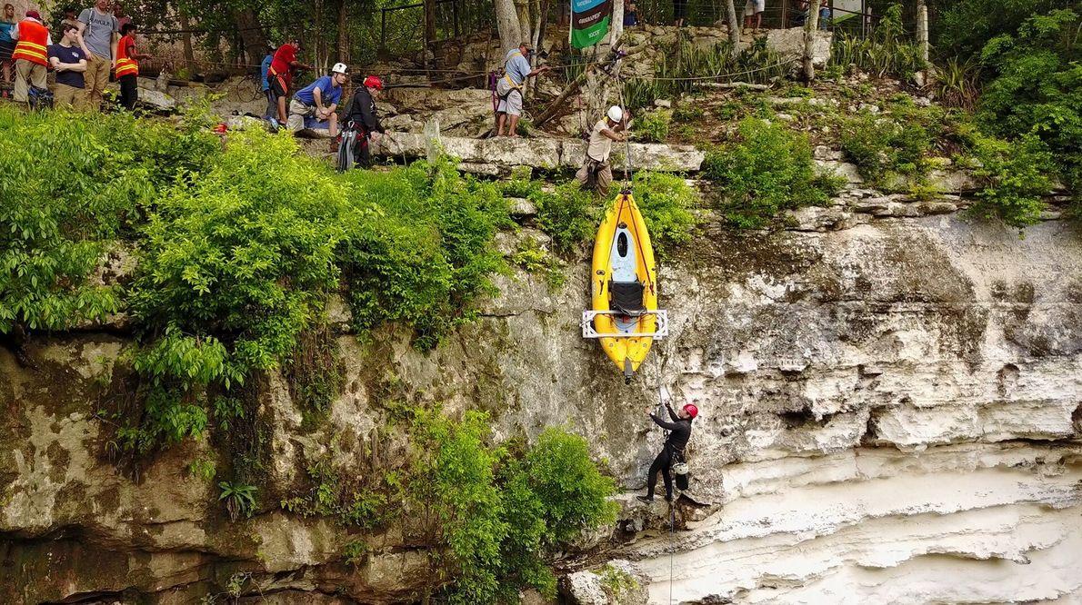 Kayaktransport