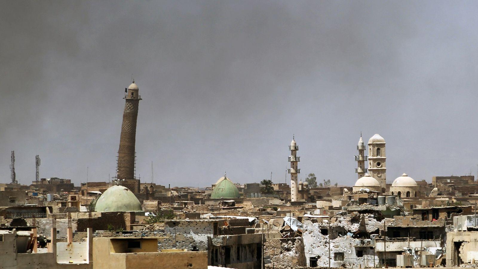 Das Minarett al-Hadba' von Mossul