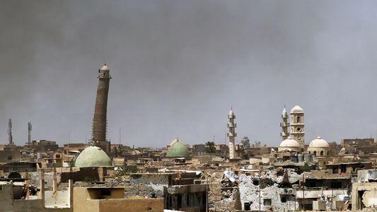 Satellitenbilder zeigen die kulturelle Zerstörung von Mossul