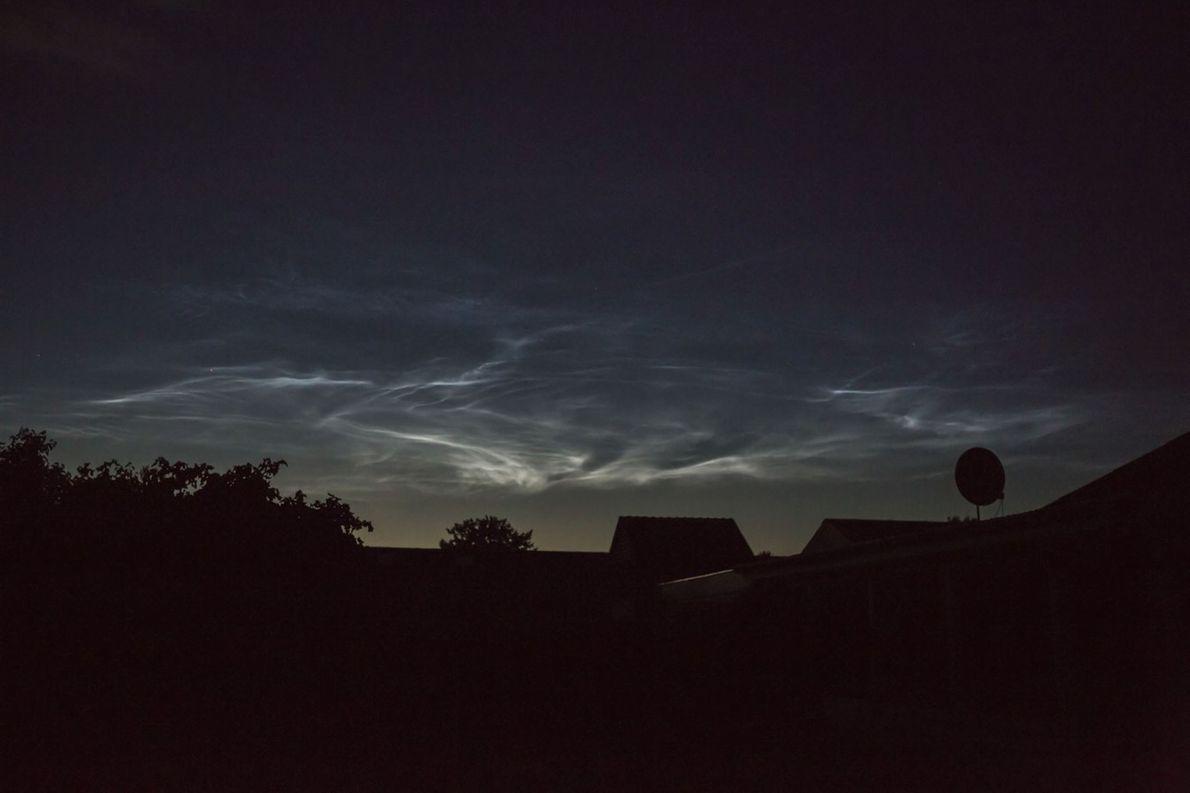 Nachthimmel über Dänemark