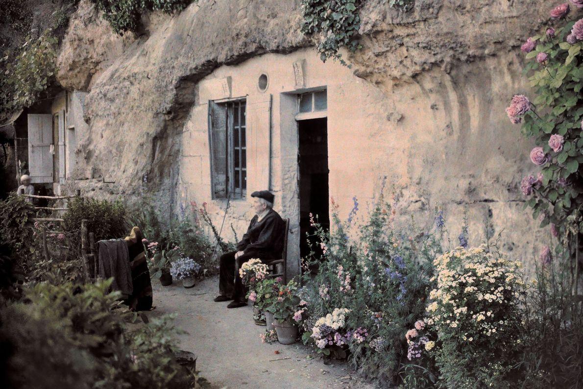 Höhlenwohnung bei Tours an der Loire