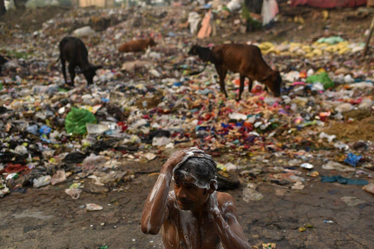 Slum in Delh