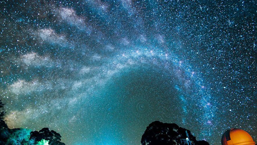 Der imposante Weg der Milchstraße am australischen Nachthimmel