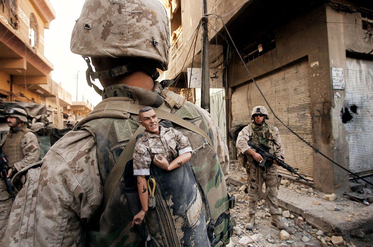 Ein U.S. Marine der 1. Division