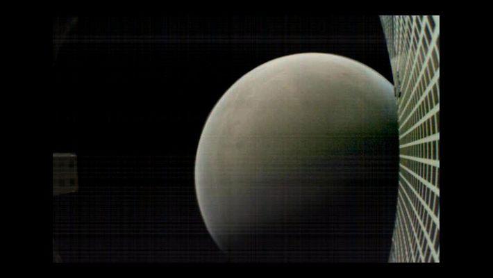 Foto des Mars aus etwa 7.500 Kilometern Entfernung