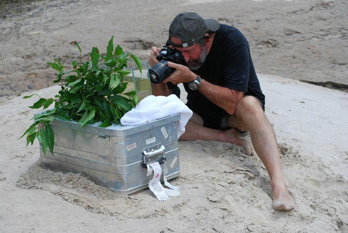 """Heiko Bleher, bekannt als """"der Indiana Jones der tropischen Fischwelt"""", reist auf der Suche nach neuen ..."""