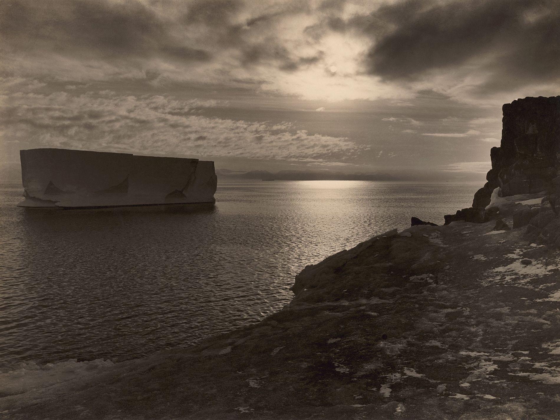 Eisberg in der Antarktis