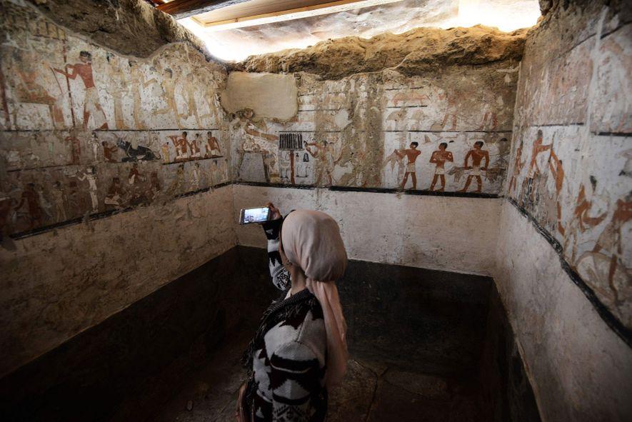 Ein Blick ins Grab einer mächtigen Ägypterin