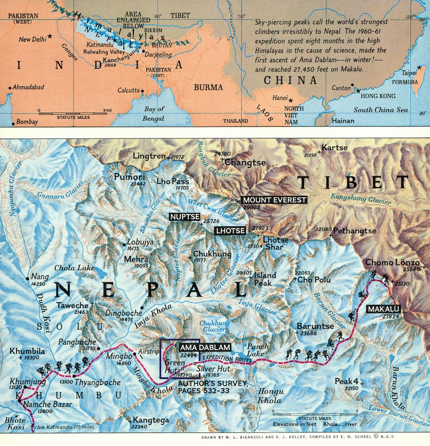 Galerie: Faszinierende Vintage-Karten aus 130 Jahren National Geographic