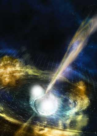 Tod zweier Neutronensterne